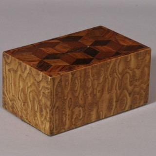 Antique Treen 19th Century Money Box