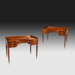 PAIR OF DRESSING TABLES BY GILLOWS