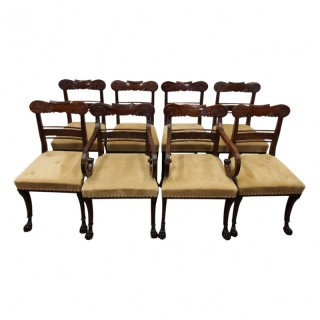 Set of 8 Morison Style Chairs