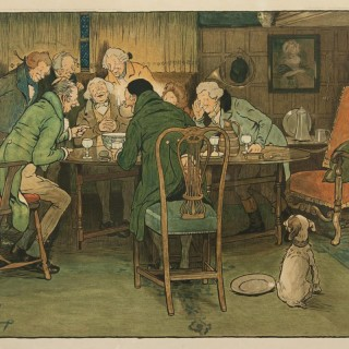 A Good Story by Cecil Aldin