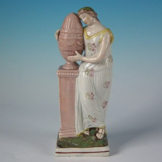 Staffordshire Pearlware figure of Andromache