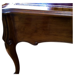 Large Vintage French, Louis XV Style, Writing Desk