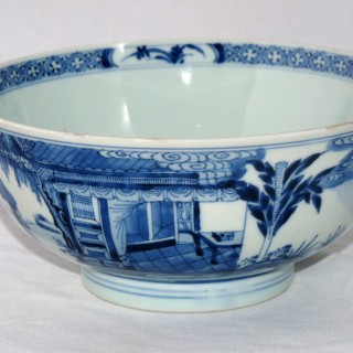 Yongzheng Mark and Period Blue and White Bowl