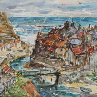 Rowland Henry Hill 'Staithes' 1943