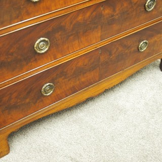 George III Style Mahogany Chest of Drawers