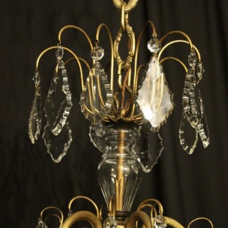 French Gilded 21 Light Antique Chandelier