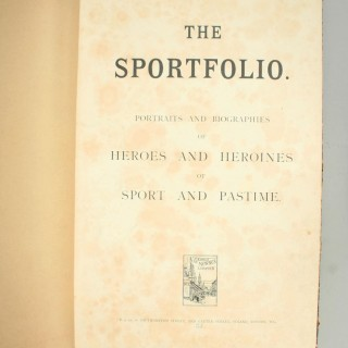 The 'Sportfolio' Book of Sporting Personalities