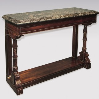 Regency period rosewood Console Table