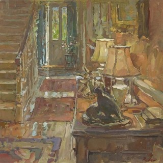 Door to the Garden by Susan Ryder RP NEAC