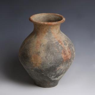Chinese Neolithic Jushi Kingdom Ceramic Jar