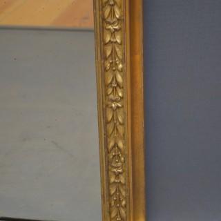 Victorian Gilded Overmantel Mirror
