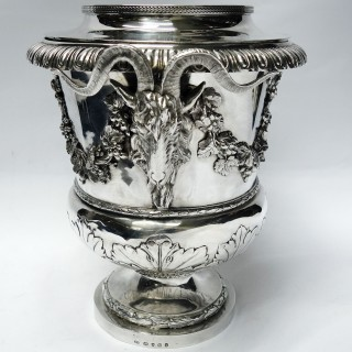 Georgian Silver Wine Cooler
