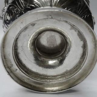 Georgian Silver Wine Cooler