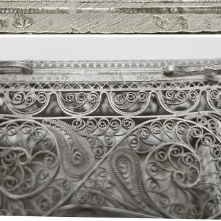 Russian Silver Casket