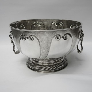 Antique William III Silver Bowl