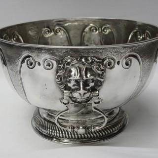 Antique William III Silver Bowl