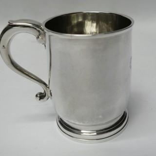 Antique George I Silver Mug