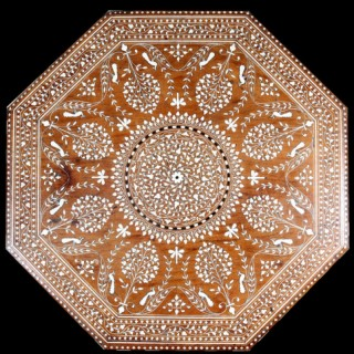 INDIAN OCTAGONAL TABLE TOP