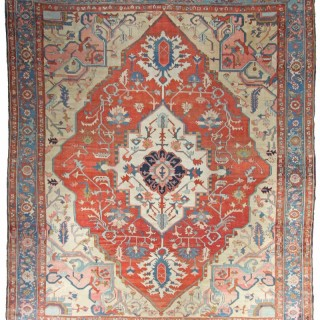 Antique Serapi carpet, Persia