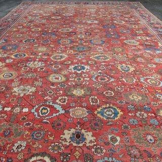 Antique Fereghan carpet, Persia