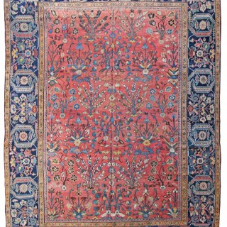 Antique Fereghan carpet, Persia