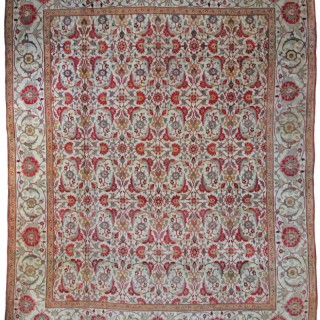Antique Agra carpet, India