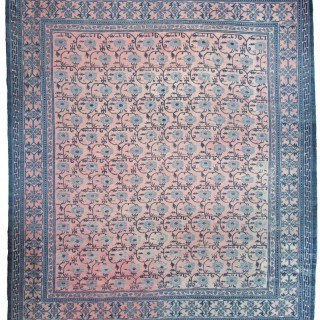 Antique Chinese Peony carpet
