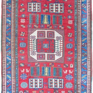 Antique Karachoff Kazak rug