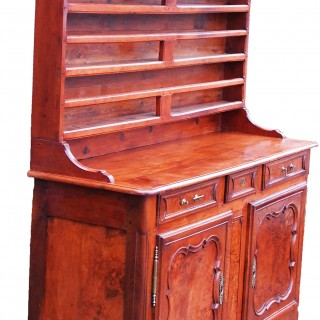 Antique 19th Century Cherrywood & Walnut Dresser