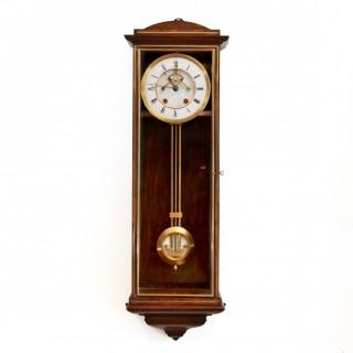 Rosewood striking Wall Clock Regulator