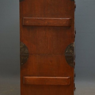 Early 19th Century Military Chest with Secretaire