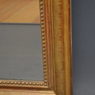 Fabulous XIXth Century French Gilt Mirror