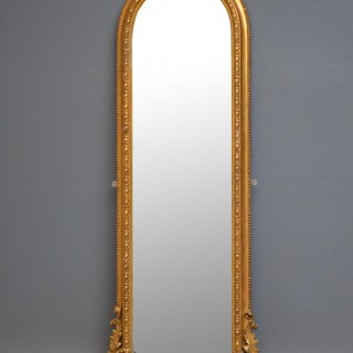 Victorian Pier Mirror Gilt wall mirror