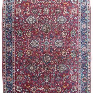 Antique Tehran carpet, Persia
