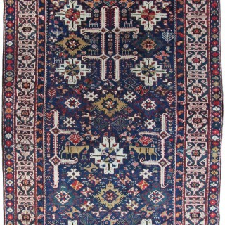 Antique Kuba Afshan, Caucasian