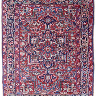 Antique Heriz rug, Persia