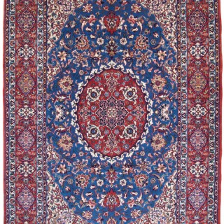 Antique Isfahan rug, Persia