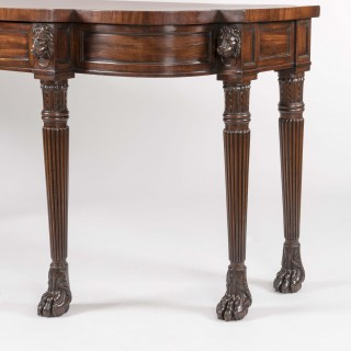 A Good Regency Period Serving Table in the Manner of George Smith