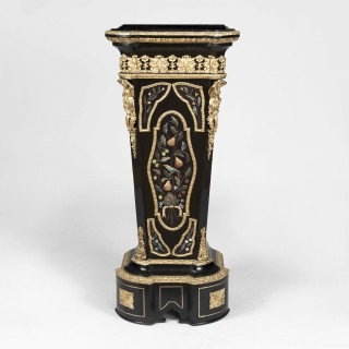 A Pair of Pedestals in the manner of Befort Fils of Paris