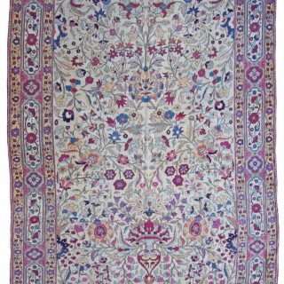 Antique Kirman carpet, Persia