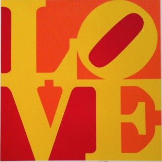 LOVE (Red, yellow, and orange)
