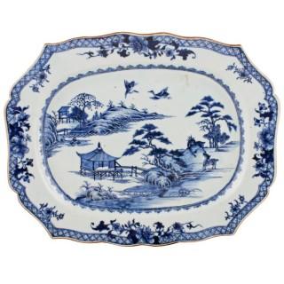 18th Century Chinese Nanking Dish