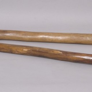 Antique Treen 19th Century Flail