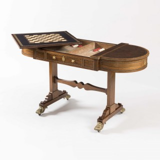 A Regency Period Games Table firmly attributed to Gillows of Lancaster