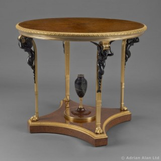 A Louis XVI Style Centre Table Attributed to  François Linke