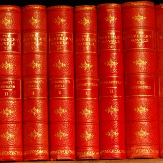 The Waverley Novels by Sir Walter Scott in 48 volumes