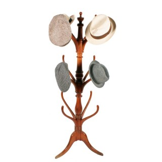 19th Century Satin Birch Hat & Coat Stand