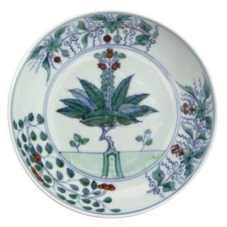 Kangxi Doucai Saucer Plate