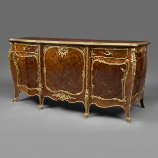 A Louis XV Style Commode by Francois Linke