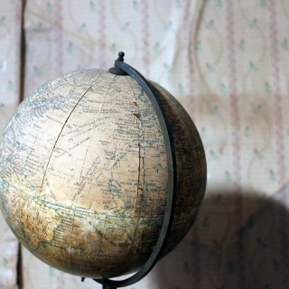 "An Early 20thC 8"" Terrestrial Table Globe 'Geographia' c.1920-25"
